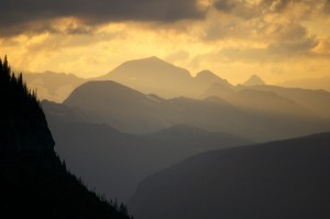 Sunset over the Livingston Range Glacier National Park, MT August, 2013 ©2013 Steve Sklar/Skysong Productions, Inc.